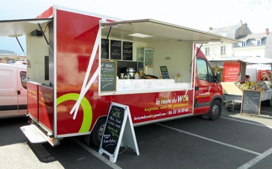 La Route du WOk - Food truck - 49 - Angers Montjean - Traiteur à domicile